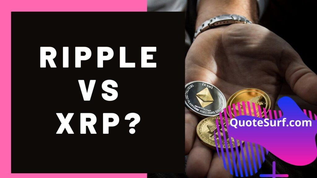 What-Is-The-Difference-Between-XRP-And-Ripple images