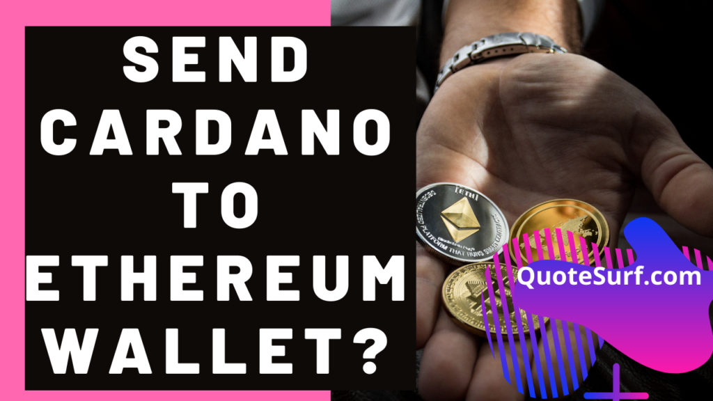 Can I Send Cardano To My Ethereum Address images