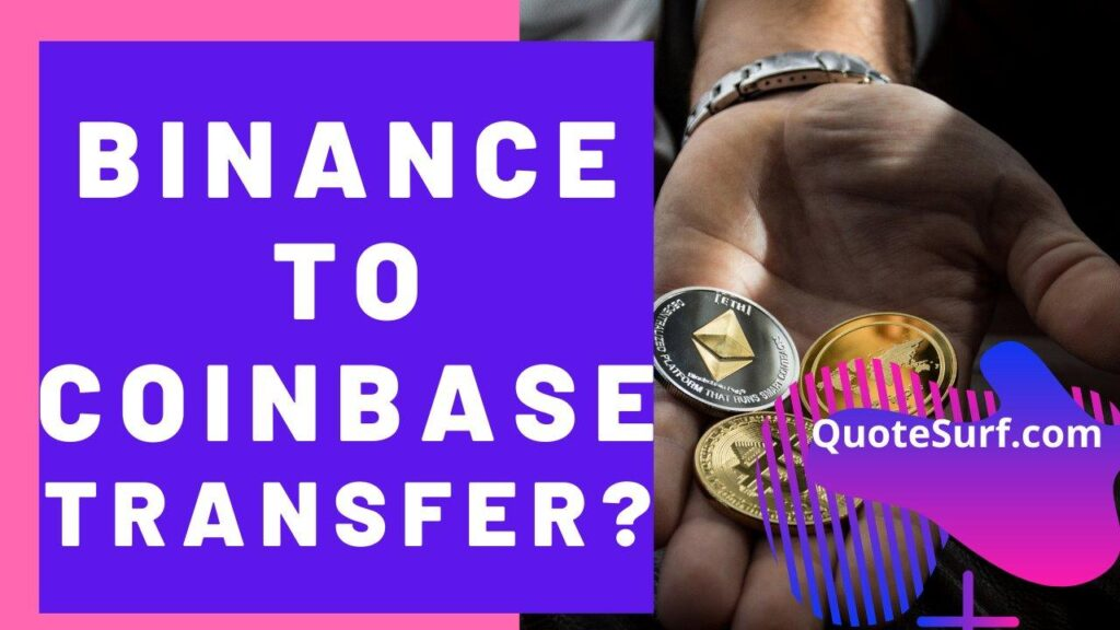 How To Transfer Crypto From Binance To Coinbase images
