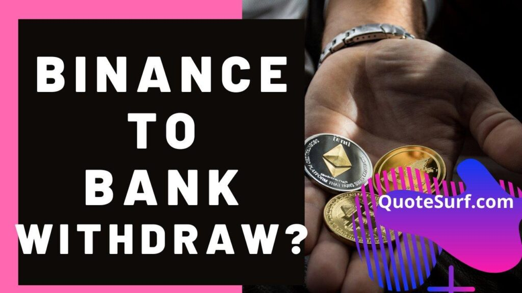 How To Withdraw Money From Binance To Bank images