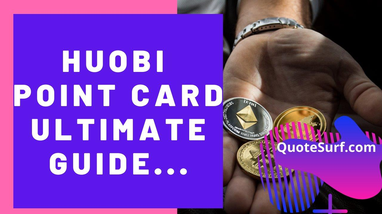 Huobi Point Card Images