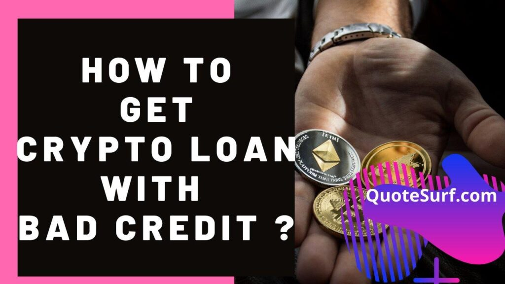 How To Get Crypto Loan With Bad Credit images