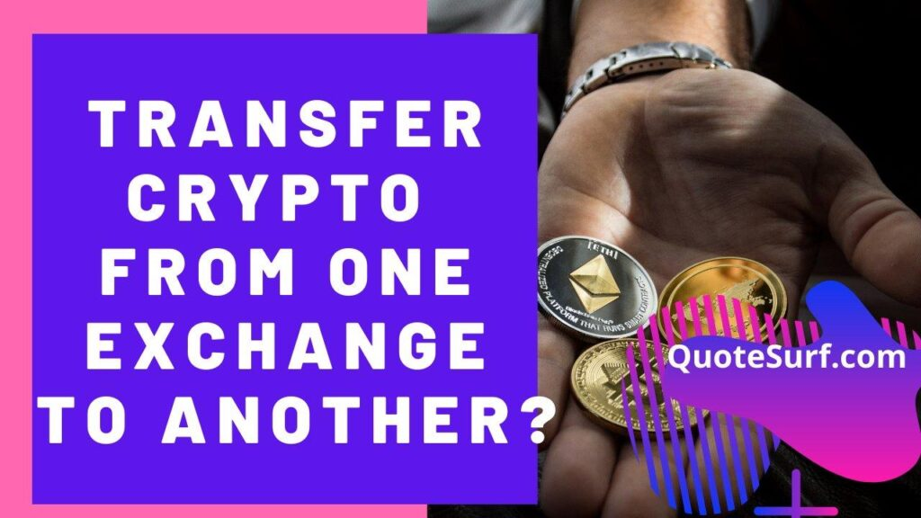Can I Transfer Crypto From One Exchange To Another images