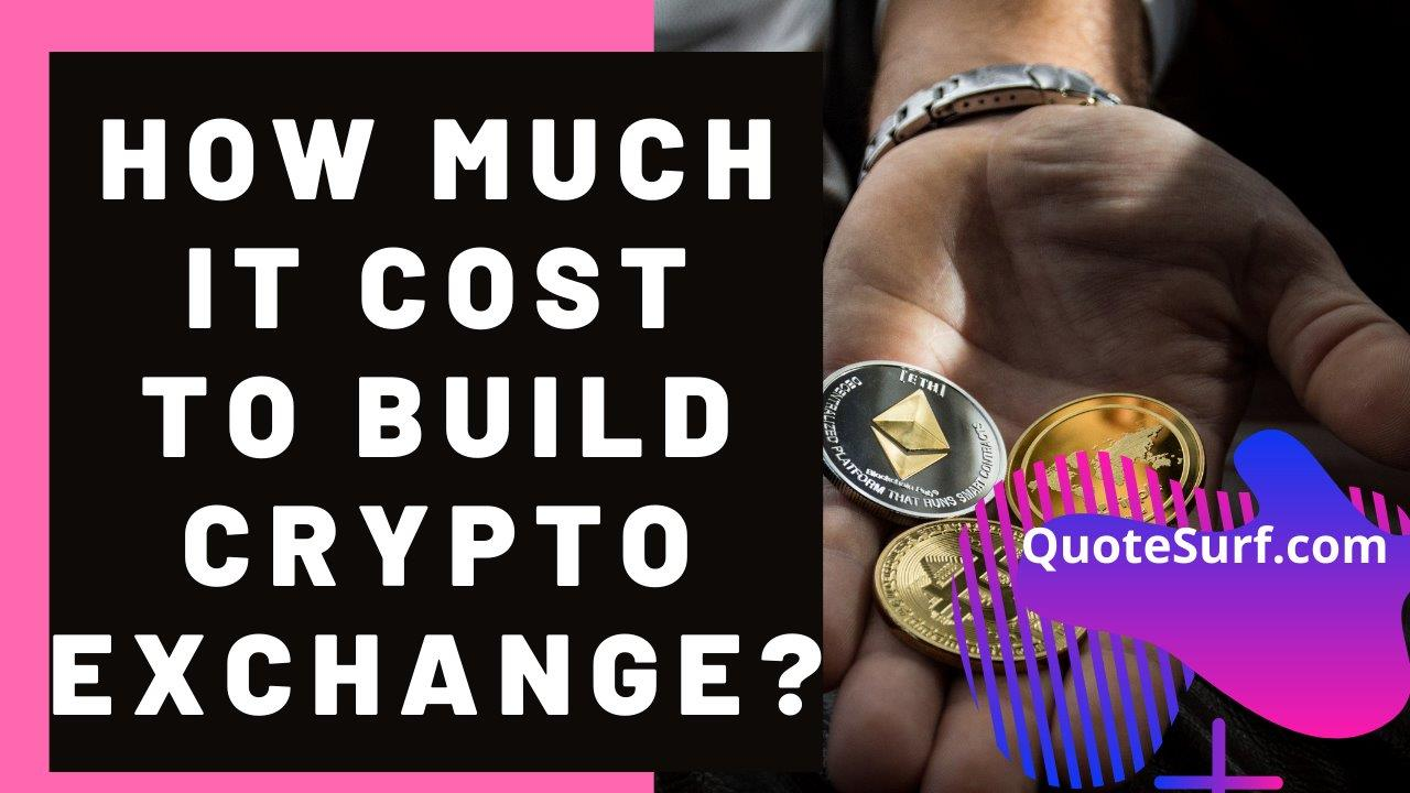 How Much Does It Cost To Build A Crypto Exchange images