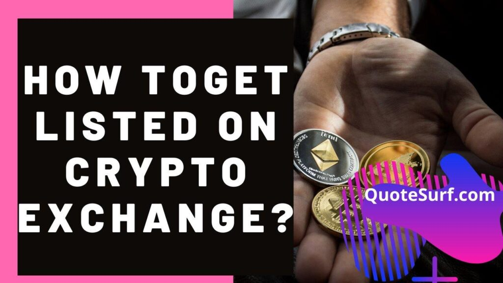 How To Get Listed On A Crypto Exchange images