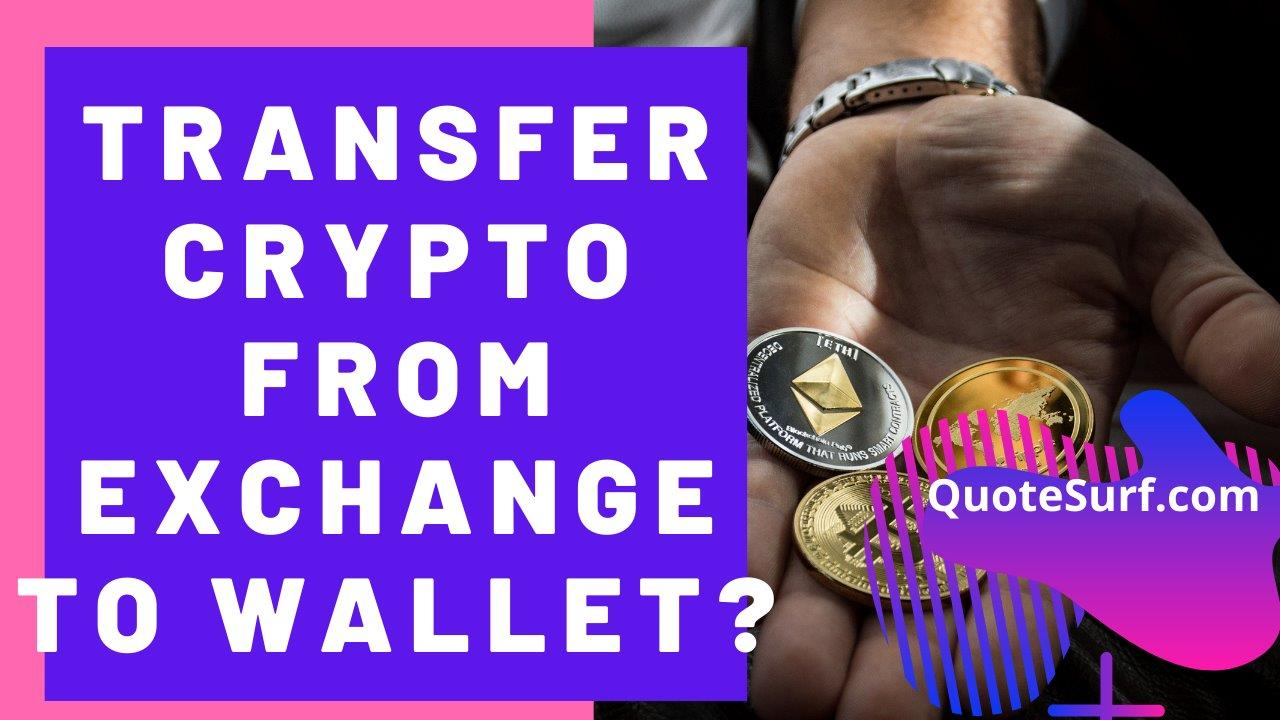 How To Transfer Crypto From Exchange To Wallet images